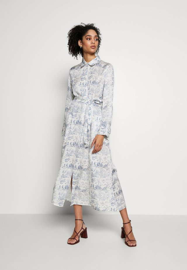 MARGOT DRESS - Shirt dress - blue toile de jouy