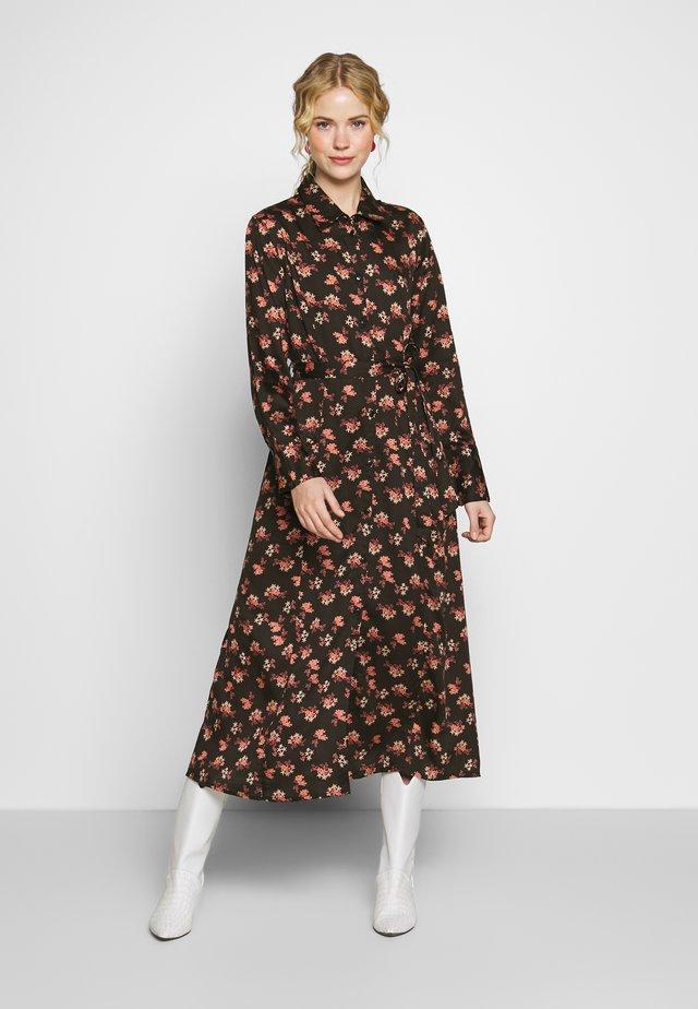 MARGOT DRESS - Skjortekjole - pink flowers