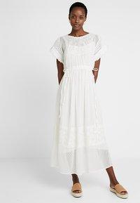 Cream - FANNY DRESS - Maxi dress - chalk - 0