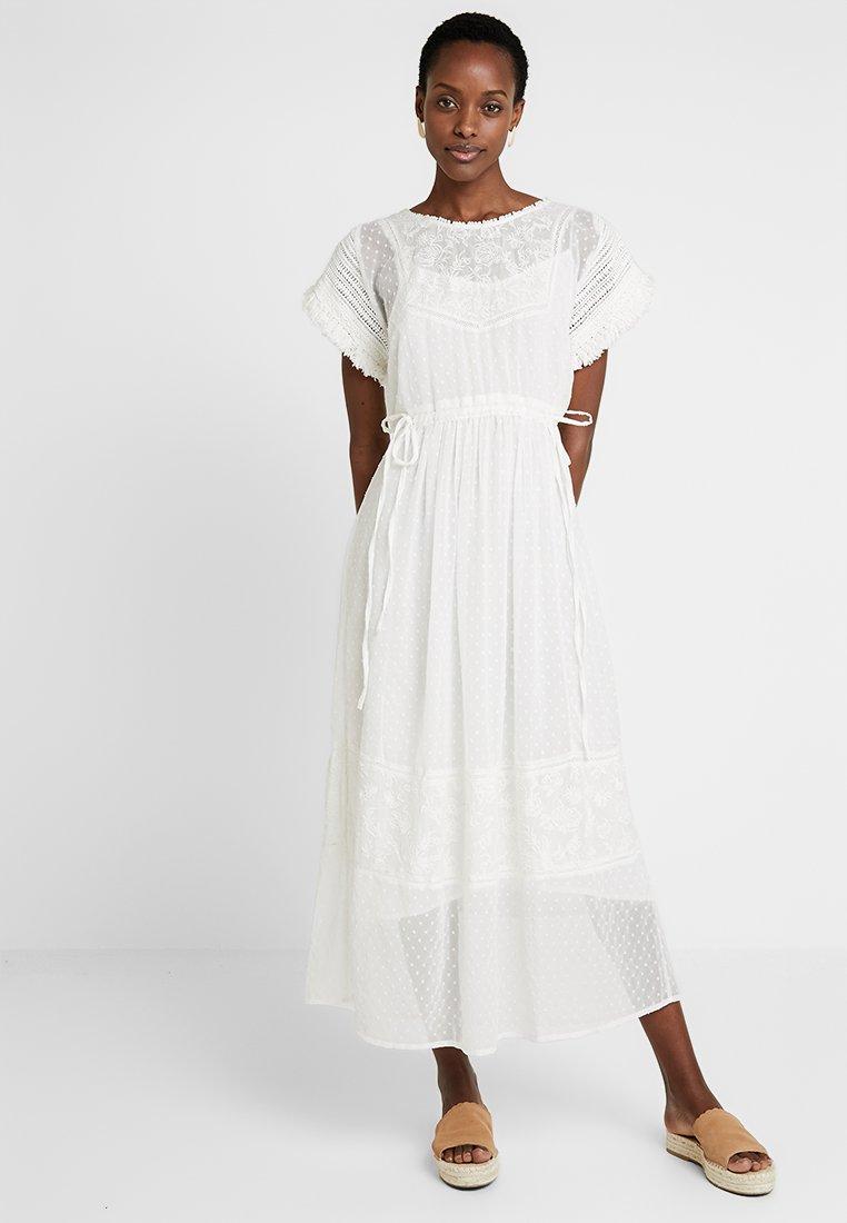 Cream - FANNY DRESS - Maxi dress - chalk