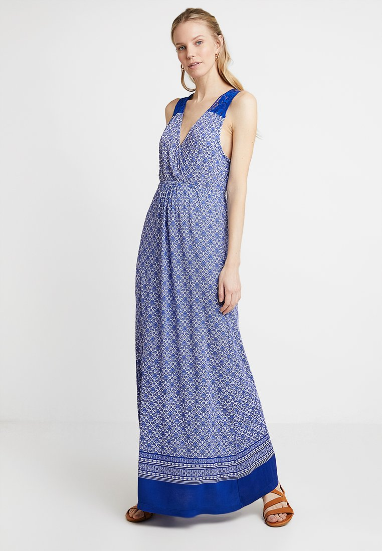 Cream - GEORGIA LONG DRESS - Maxi šaty - deep ultramarine