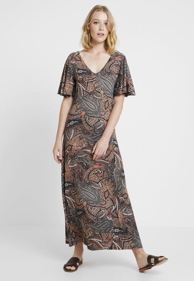 LONG DRESS - Maxi dress - coffee