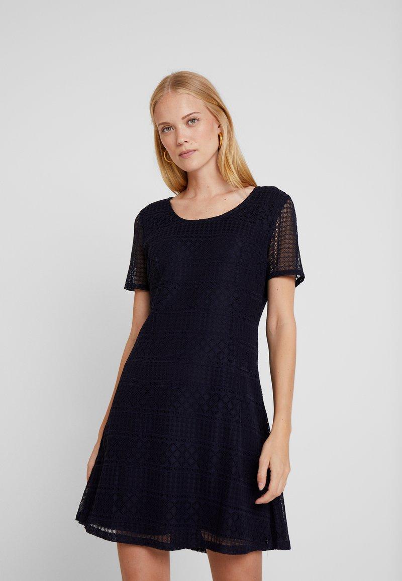 Cream - CHELLYCR DRESS - Day dress - royal navy blue