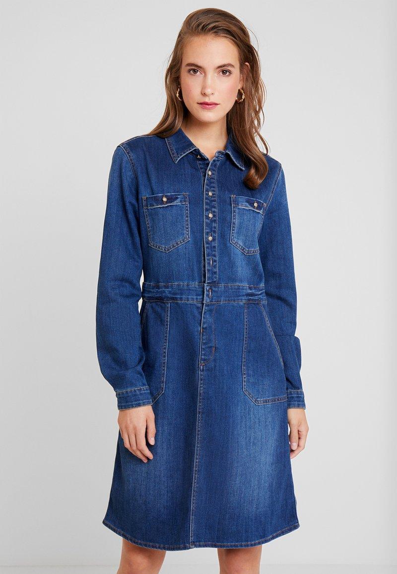 Cream - SPICA DRESS - Jeanskleid - denim melange