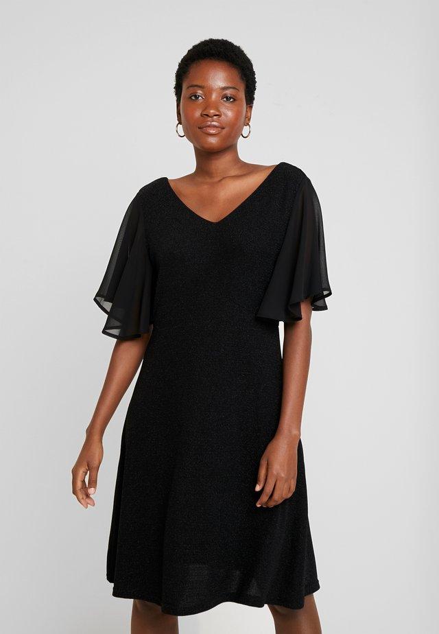 MINUCR SHORT DRESS - Cocktailkjoler / festkjoler - pitch black