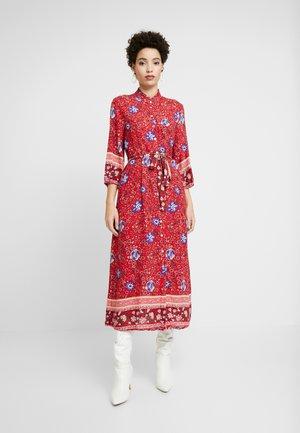 ODELLA DRESS - Shirt dress - red velvet