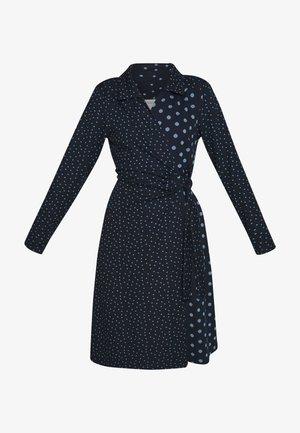 SUEDA WRAP DRESS - Day dress - royal navy blue