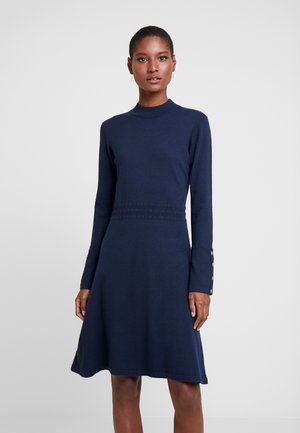GIULIACR DRESS - Strickkleid - royal navy blue