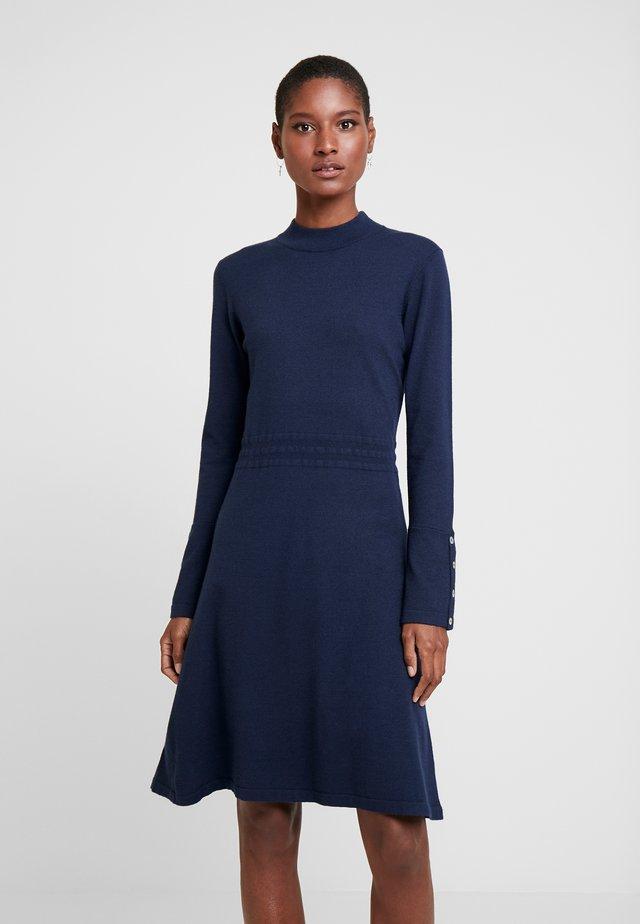 GIULIACR DRESS - Stickad klänning - royal navy blue
