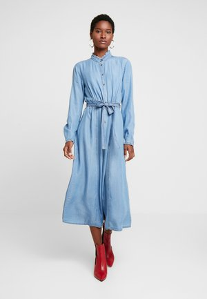 VINCACR DRESS - Denim dress - blue denim