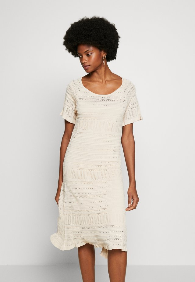 ALLEGRACR DRESS - Jerseyjurk - chai beige