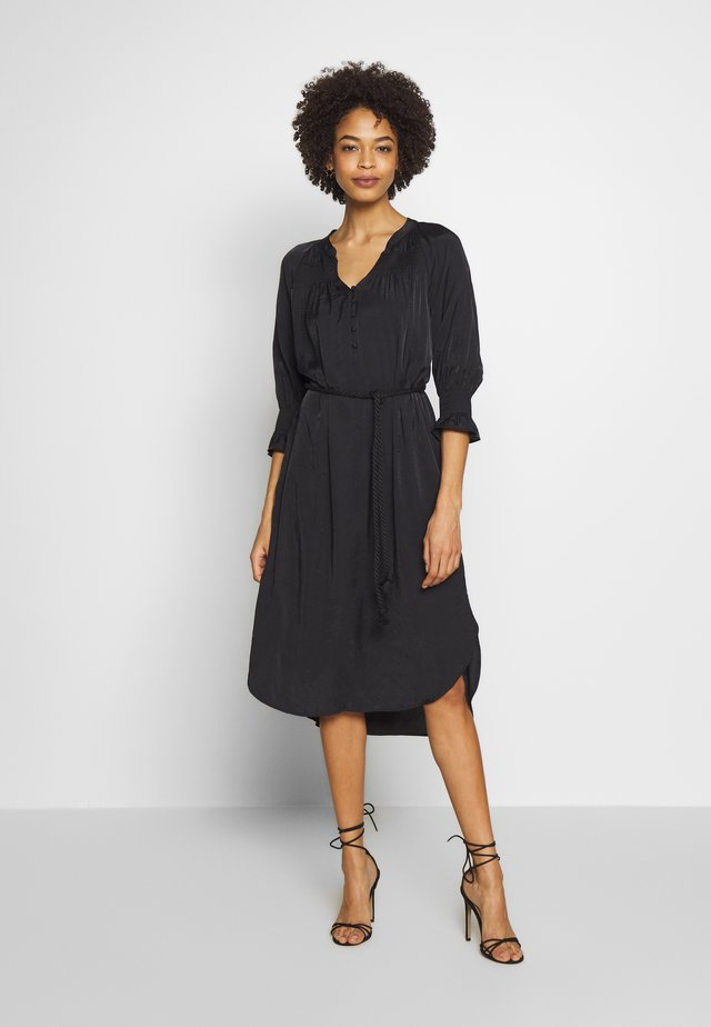 FILUCA DRESS - Korte jurk - pitch black
