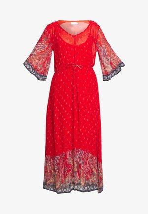 NALITACR DRESS - Maxi-jurk - aurora red