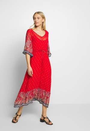 NALITACR DRESS - Maxi-jurk - aurora red