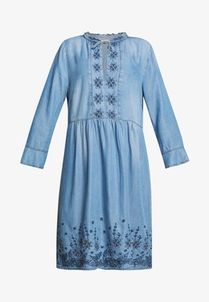 ELLIS DRESS - Denim dress - blue
