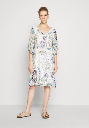 GEMMA SHORT DRESS - Korte jurk - aqua haze