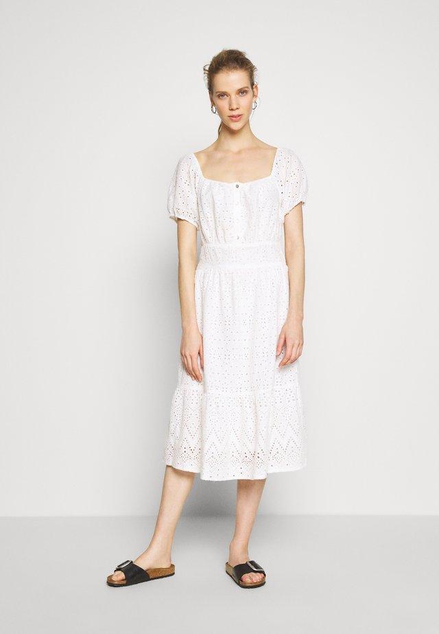 HANNAH DRESS - Sukienka koszulowa - chalk