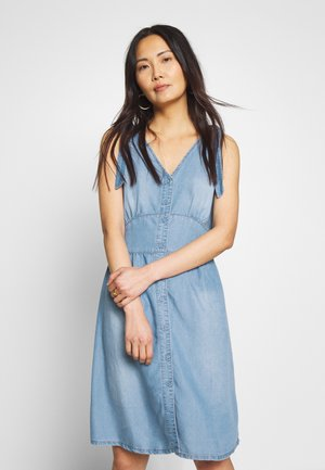 ESTHER DRESS - Denim dress - denim blue