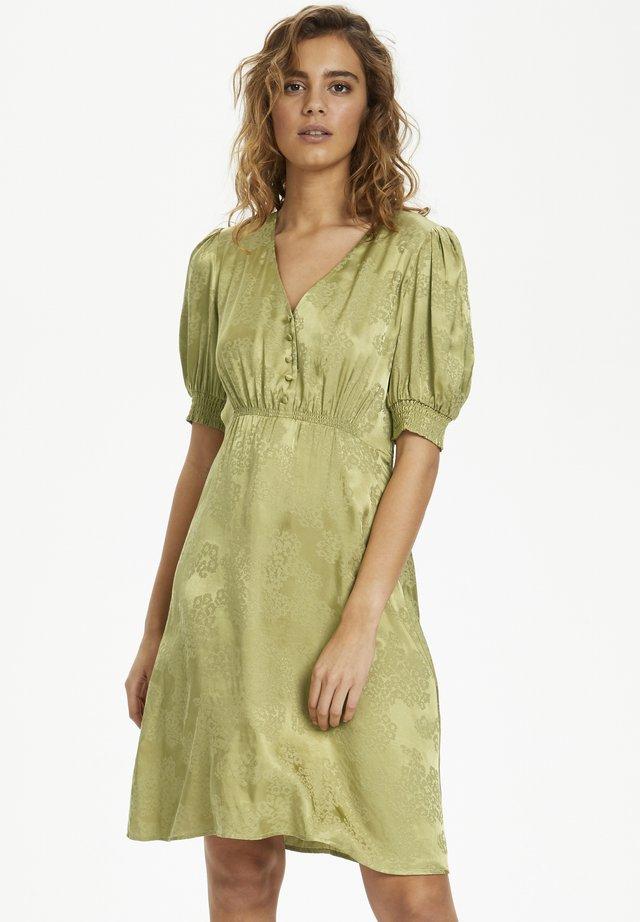 GUNNACR  - Korte jurk - cedar green