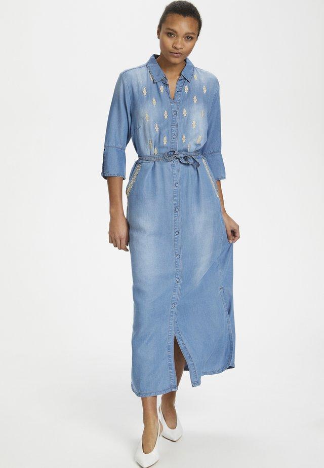 ESTHERCR - Maxi-jurk - denim blue