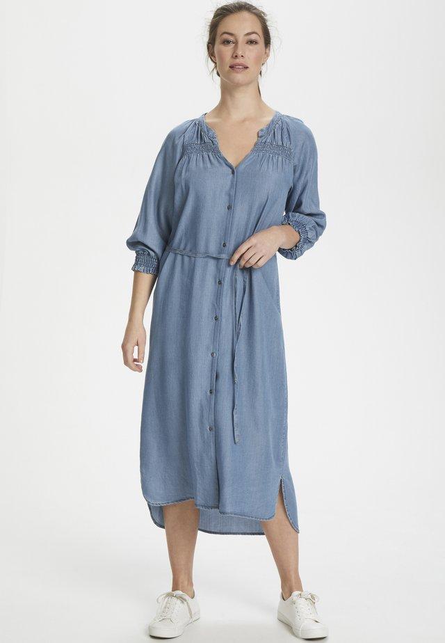 SUNACR  - Spijkerjurk - denim blue