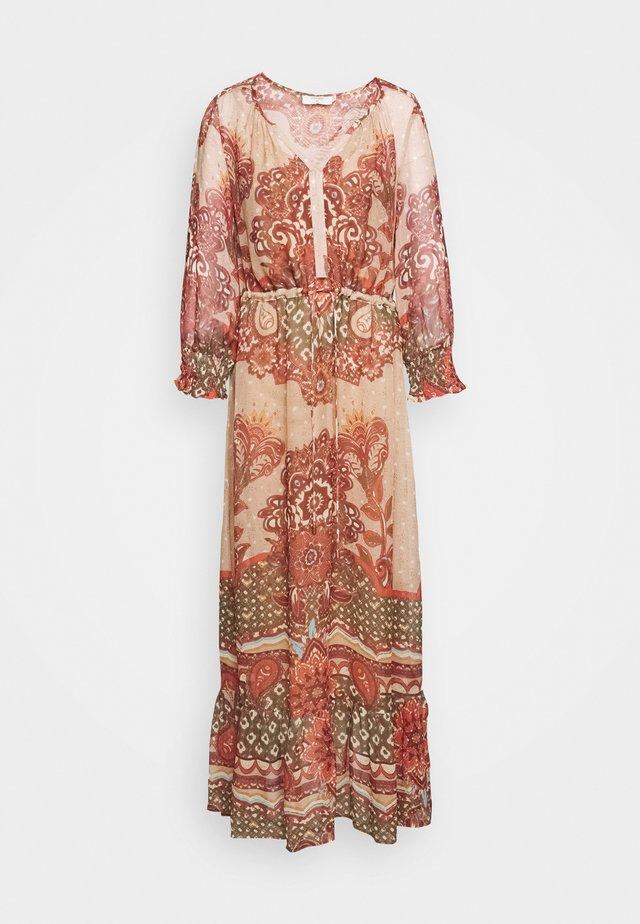 SANNIE DRESS - Maxi dress - biscotti medallion