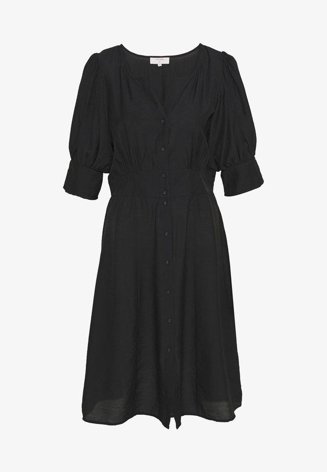 BIRK DRESS - Skjortekjole - pitch black
