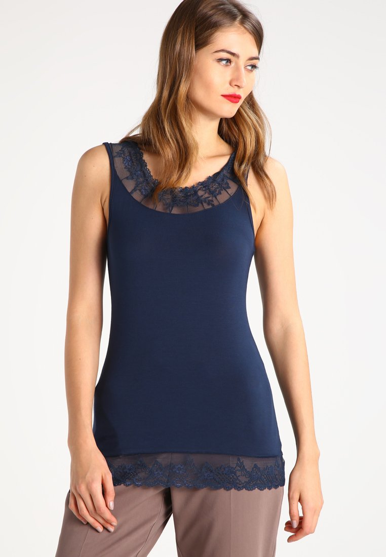 Cream - FLORENCE - Top - royal navy blue
