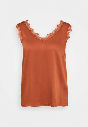 ALENA STRETCH - Blouse - baked clay