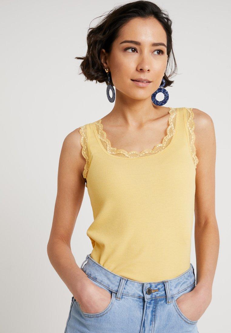 Cream - VANESSA  - Top - cornsilk yellow