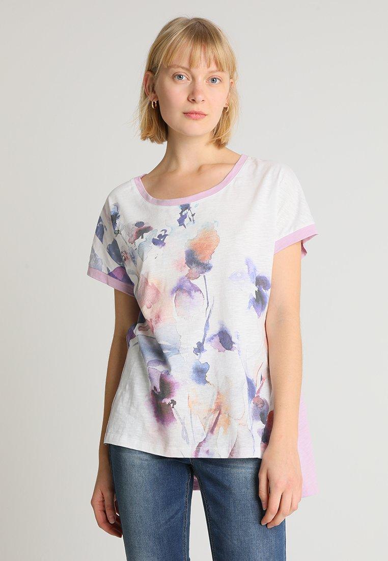 Cream - LAVENIE - T-shirts print - lavender purple