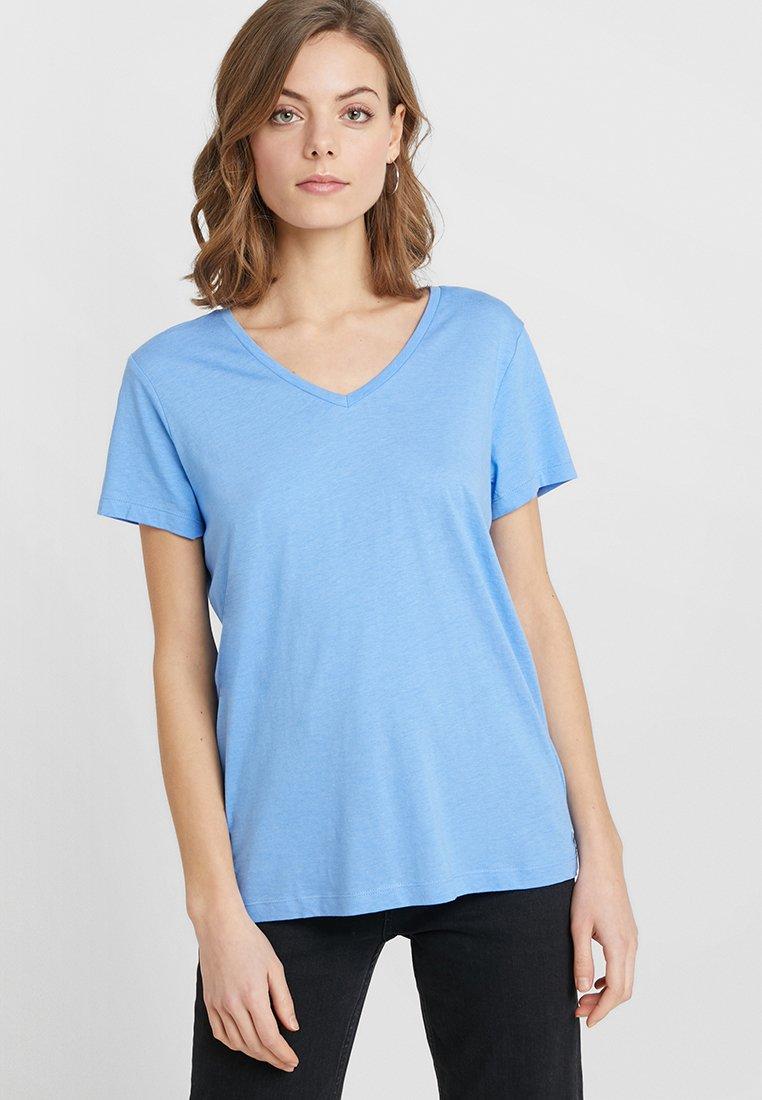 Cream - NAIA - T-Shirt basic - provence blue