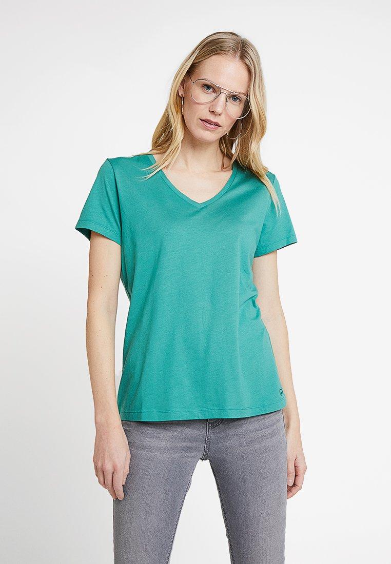 Cream - NAIA - T-Shirt basic - bottle green