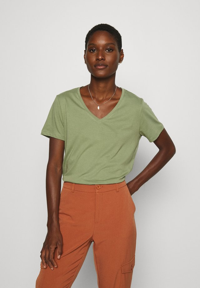 NAIA - T-shirt basic - oil green