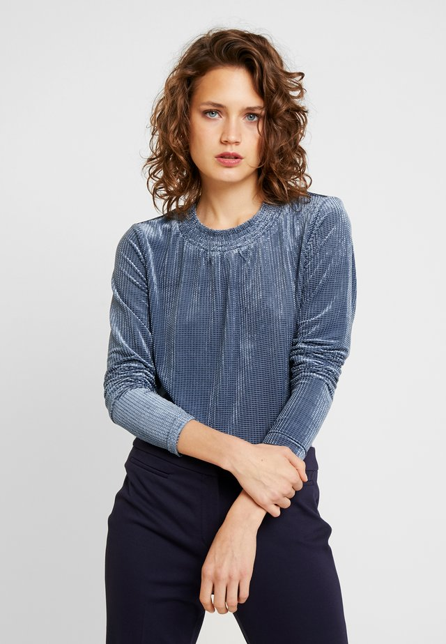 CAMILY - Long sleeved top - infinity blue