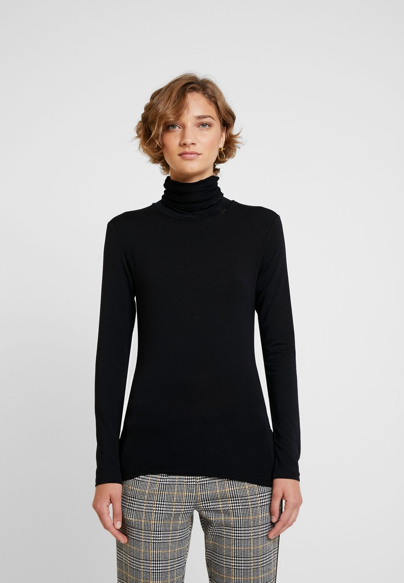 Cream - VILLA - Long sleeved top - pitch black