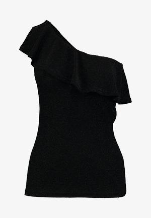 MINU - T-shirts med print - pitch black