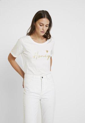 HAYDEN - T-Shirt print - chalk