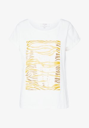 PIACR - T-shirt print - gold