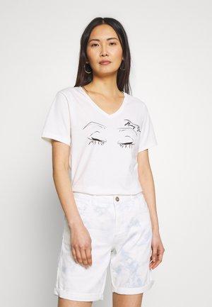 NALA - T-shirt con stampa - chalk