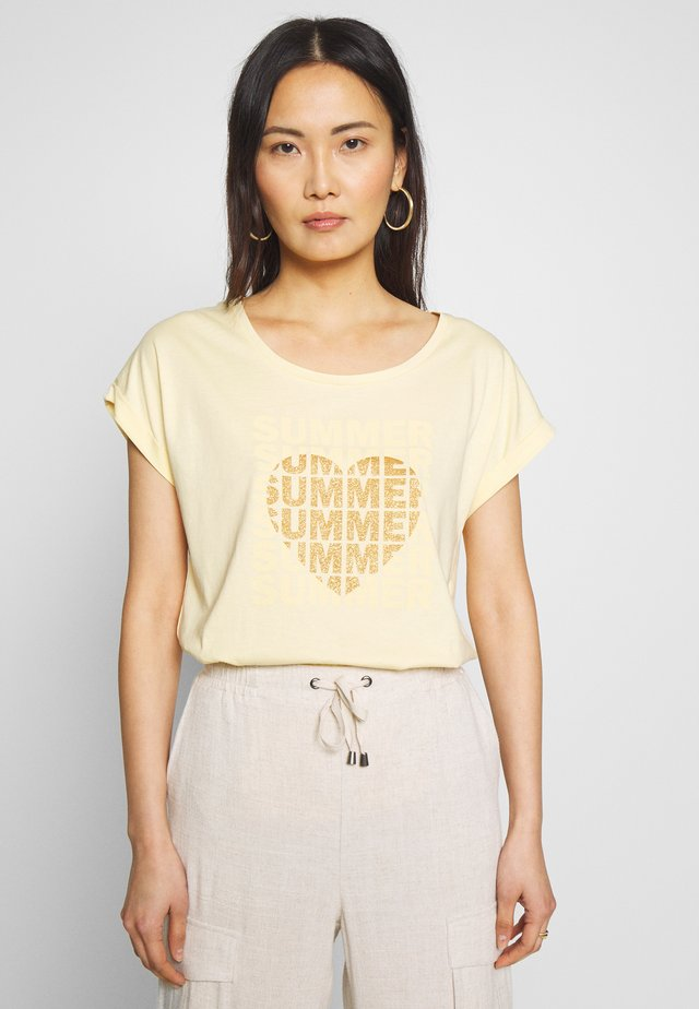 T-shirts print - dusty sun