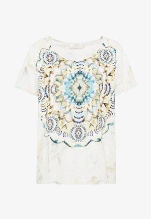 TIEDYECR - T-shirt med print - aqua haze