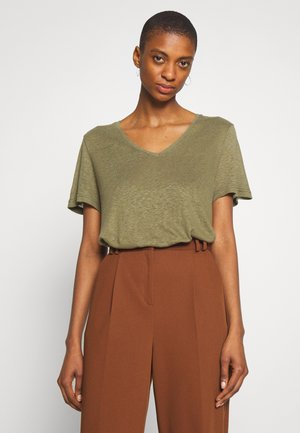 PITTA - T-shirt basique - burnt olive
