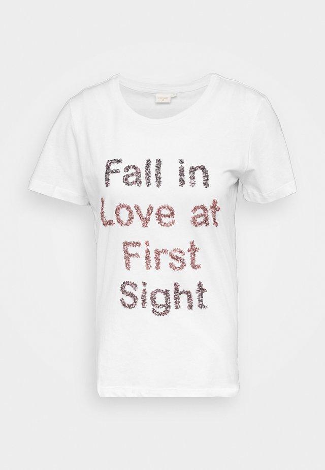FLORISA - T-shirts print - snow white