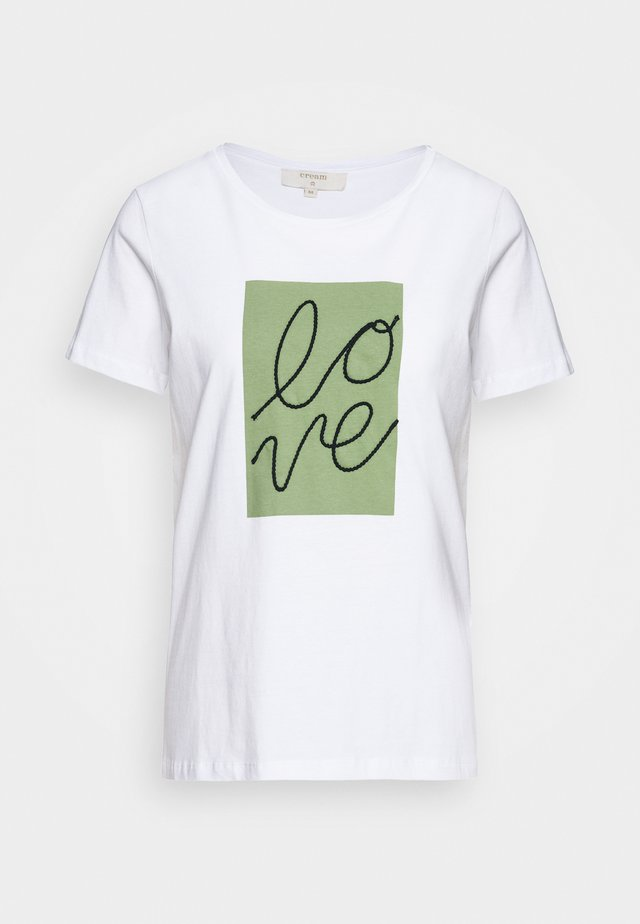 FLORA - T-Shirt print - snow white
