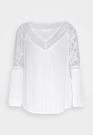 BELLA BLOUSE - Blouse - chalk