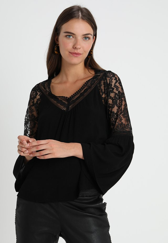 BELLA BLOUSE - Blouse - pitch black