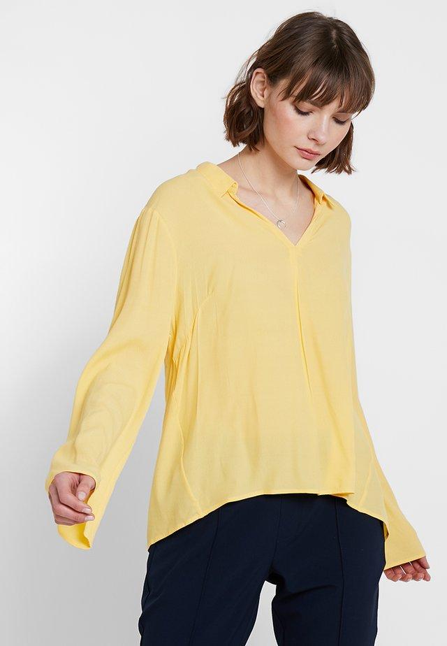 AGDA BLOUSE - Bluse - cornsilk yellow