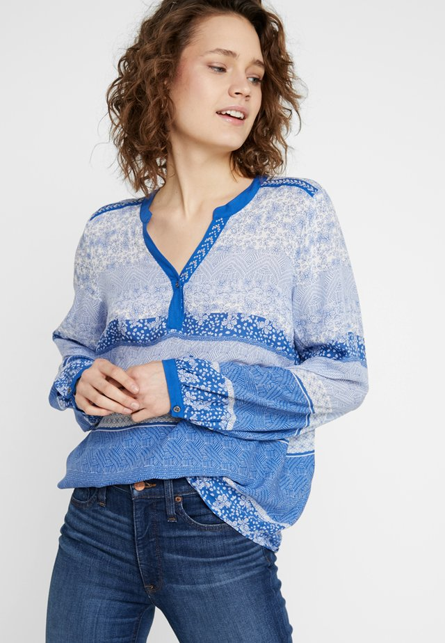 INA BLOUSE - Bluse - limoges blue