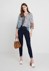 Cream - SAMA - Blouse - dark denim - 1